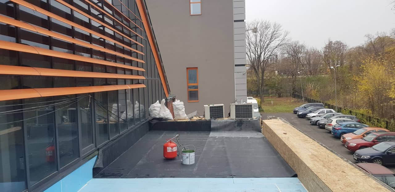Refacere hidroizolatie terasa necirculabila - montaj epdm
