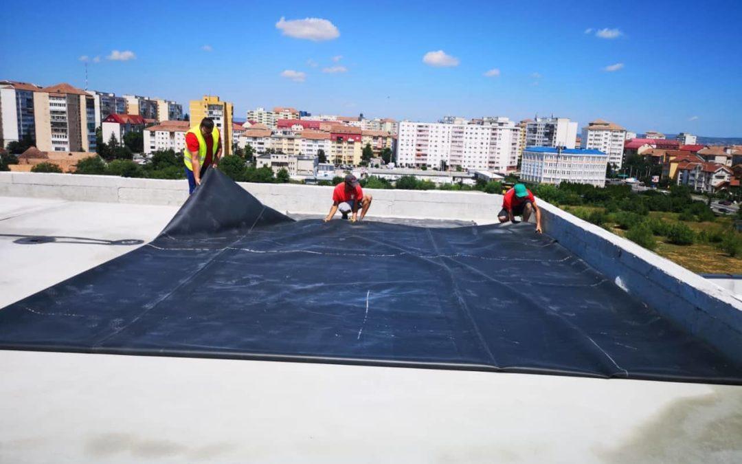 Hidroizolatie terasa piscina
