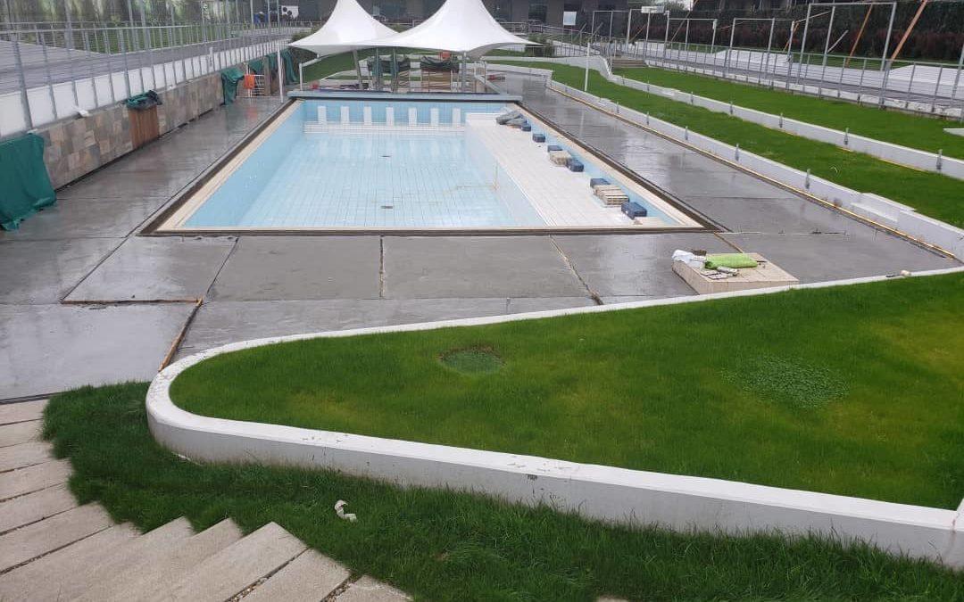 Refacere hidroizolatie piscina